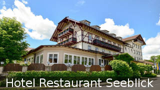 Hotel Restaurant Seeblick in Bernried am Starnberger See